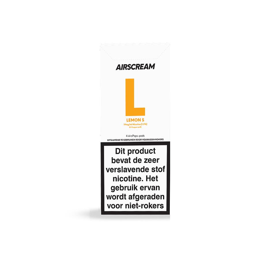 Airscream - AirsPops Lemon S - 4Pcs
