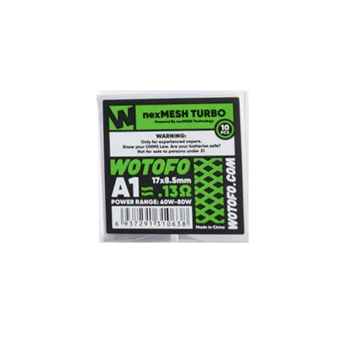 Wotofo NEXMESH Mesh Coils - 10 Stück