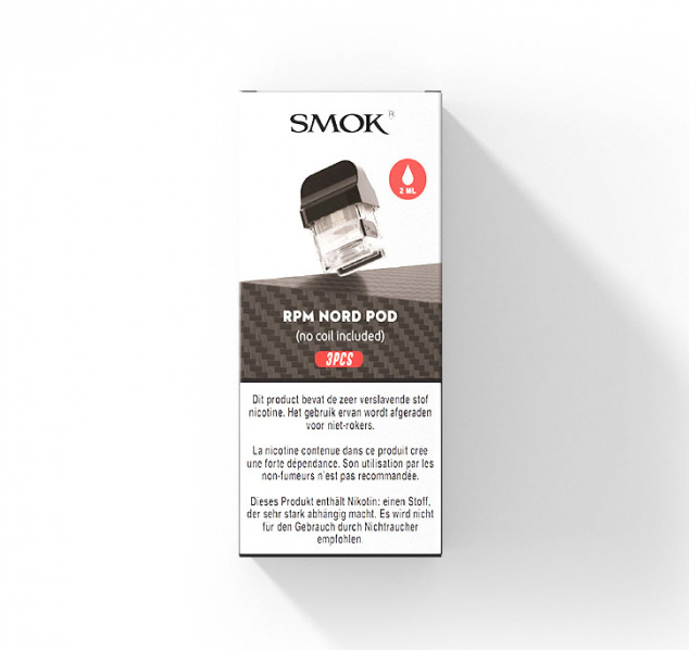 Smok Nord 2 U / min Pod (keine Spule) - 3St
