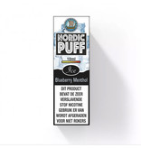 Nordic Puff Ice - Blueberry & Menthol