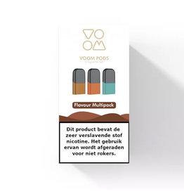 VOOM - Multipack Tobacco Pods - 3St