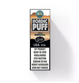 Nordic Puff Gold - USA Tobacco Mix