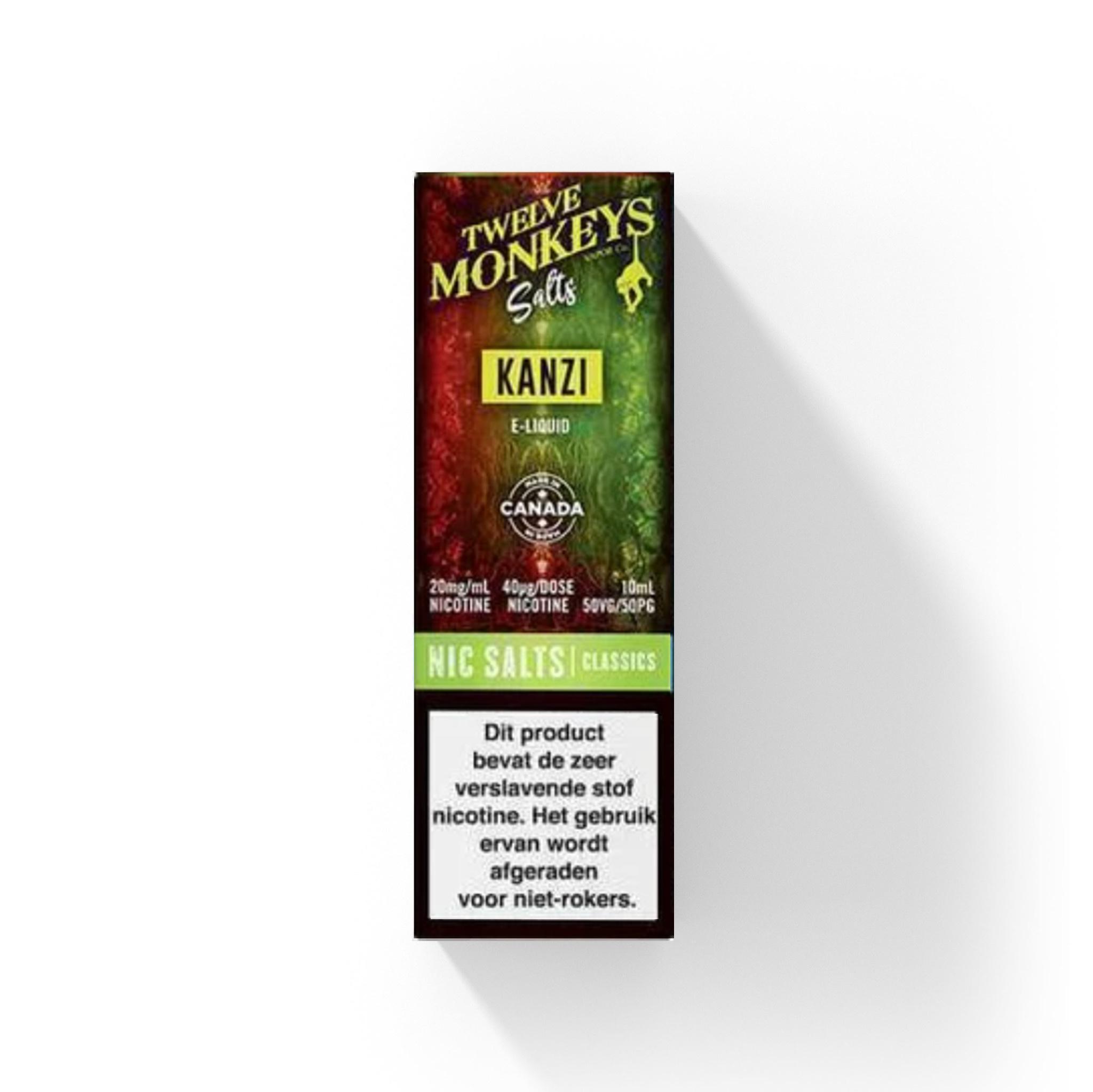 Twelve Monkeys - Kanzi (Nic Salt)