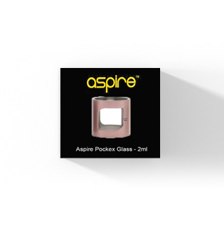 Aspire PockeX Pocket AIO Pyrex Glas