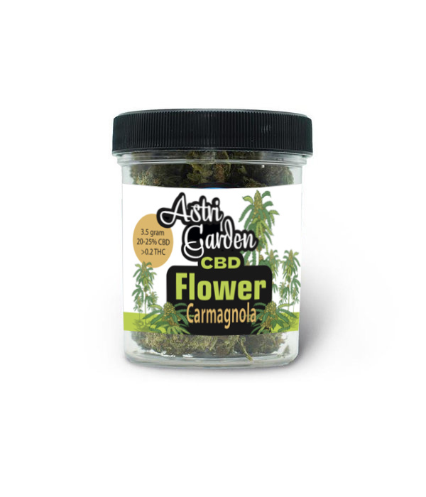 Astri Garden CBD  Flower - Carmagnola 20%