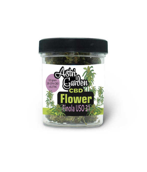 Astri Garden CBD Flower - Finola USO 31 - 20%Astri Garden CBD Flower - Carmagnola 20%