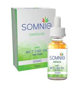 Somnio Energize MCT CBD Oil Tincture: Mint - 10ml