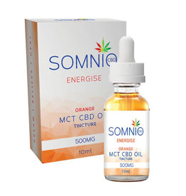 Somnio Energize MCT CBD-Öltinktur: Orange - 10 ml