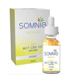 Somnio Energise MCT CBD Oil Tincture: Lemon - 10ml