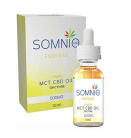 Somnio Energize MCT CBD Öltinktur: Zitrone - 10ml