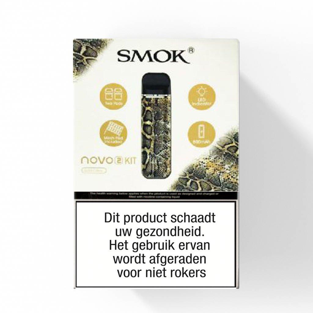 """SMOK Novo 2 SMOK Novo 2 Cobra Starter set - 800 mAh """"special edition"""""""