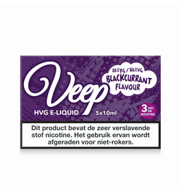 Veep HVG Blackcurrant - 5x10ml