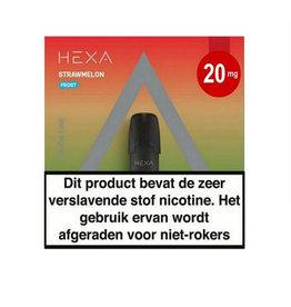 """Hexa Pods 2.0 - Strawmelon Frost """"Nic Salt"""" (2 Stück)"""