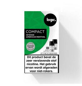 Logic Compact Pod - Intensives amerikanisches Menthol - 2St
