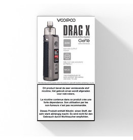 Voopoo Drag X Vape Kit - 80W