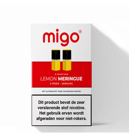 Migo Pods -  Lemon Meringue - 2Pcs
