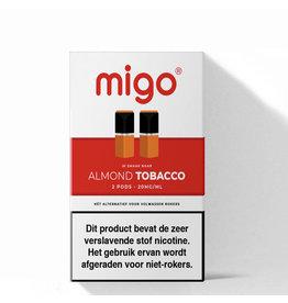 Migo Pods - Almond Tobacco -2Pcs