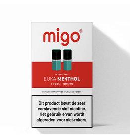 Migo Pods - Euka Menthol - 2 Pcs