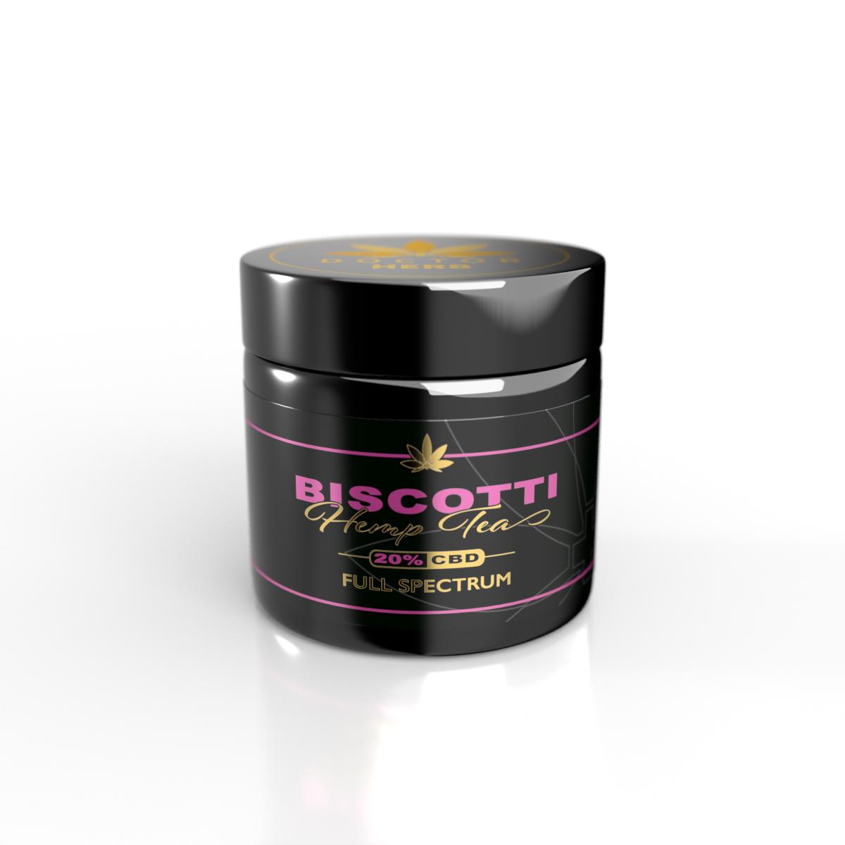 Doctor Herb - Biscotti Hemp Flower- 20% CBD/  0.02 THC