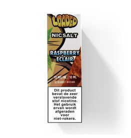 Loaded -  Raspberry Eclair 'Nic Salt'