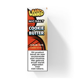 "Loaded - Cookie Butter ""Nic Salt """