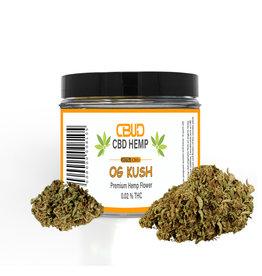 CBUD Flower - OG Kush - 20% CBD < 0.2 THC