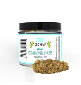 CBUD Flower - Diamond Haze - 20% CBD / 0.02 THC