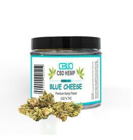 CBUD Flower - Blue Cheese - 20% CBD < 0.2 THC