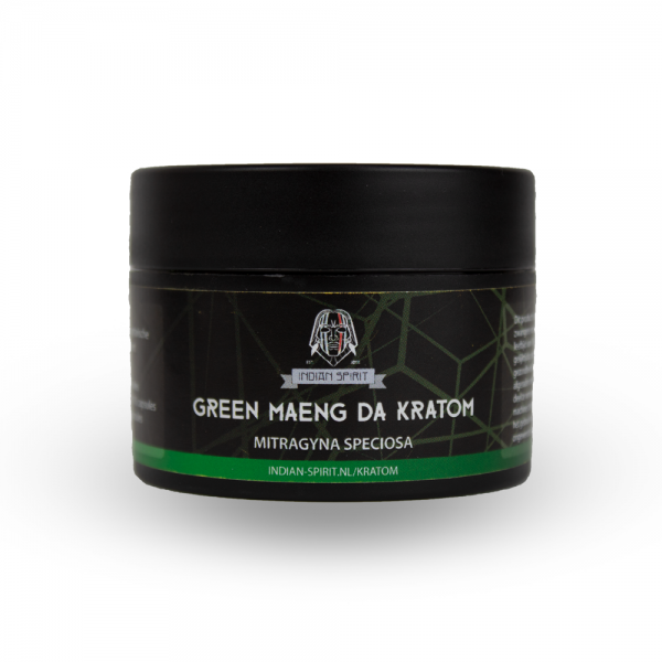 Indian Spirit Kratom – Green Maeng Da - vegetarische capsules