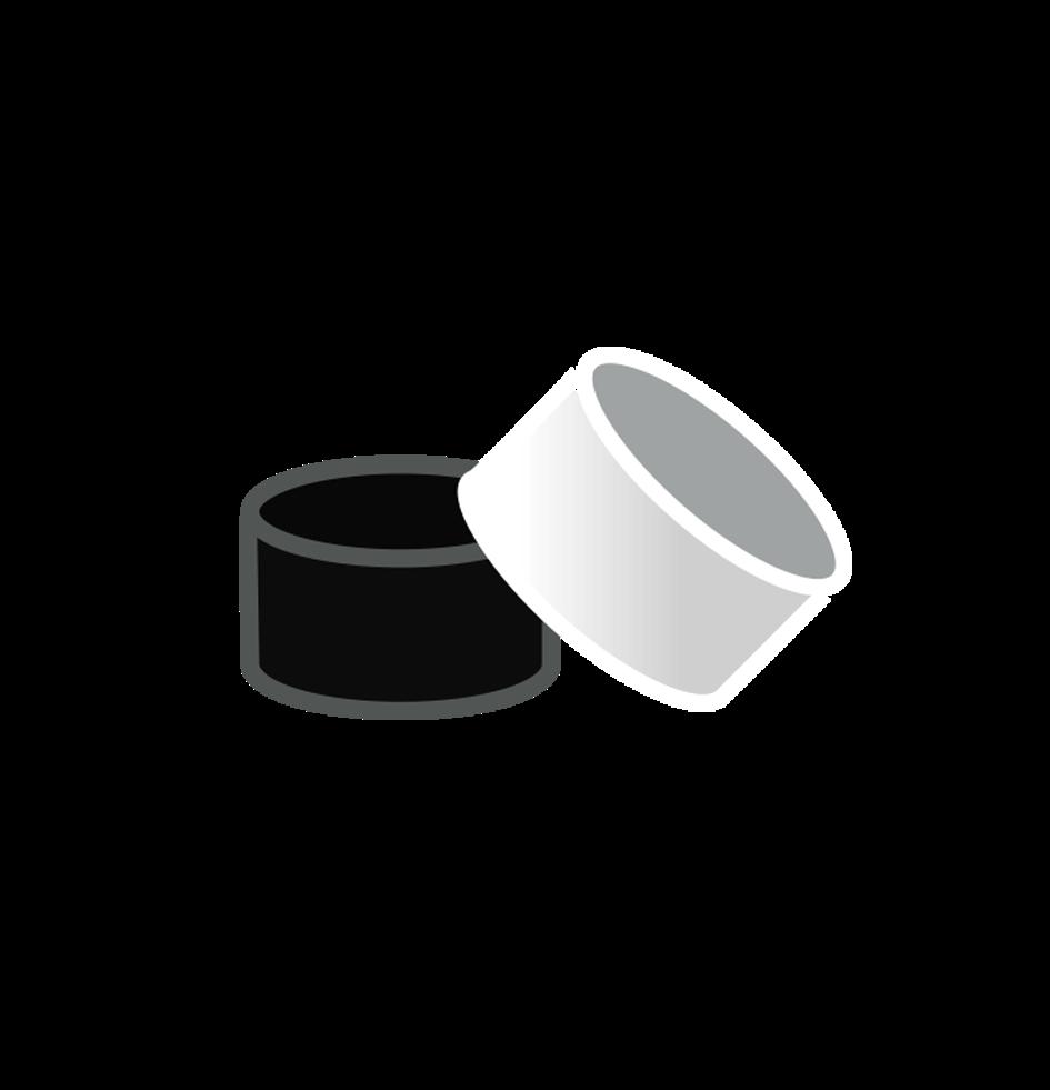 Pyrex-Glas Gummierungen