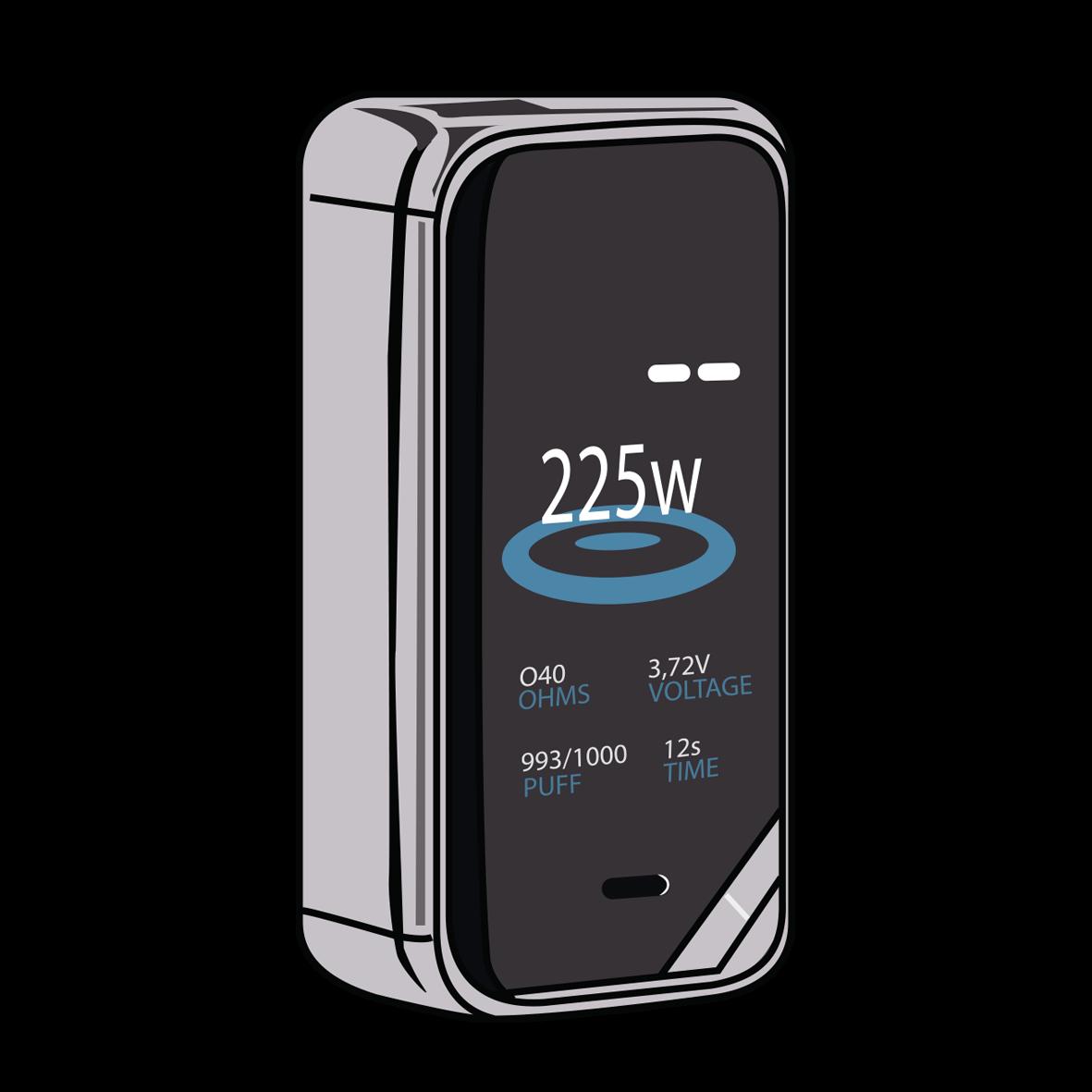 Mod 2 batterij
