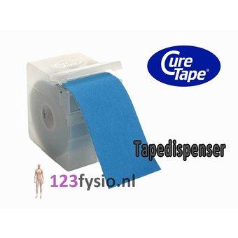 CureTape Tapedispenser voor kinesiotape van 5 cm breed