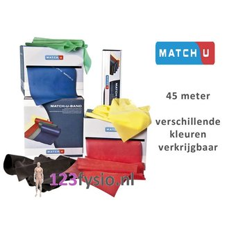 Match-U Resistance band | Dynaband 45 meters