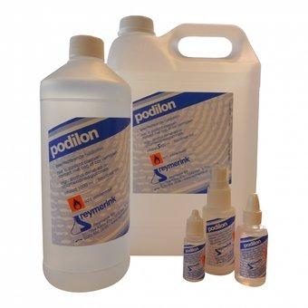 Podilon is een lotion op basis van ethanol ter bestrijding van bacteriën