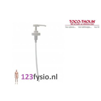 Toco Tholin Toco Tholin dosing pump 5 liter can massage oil