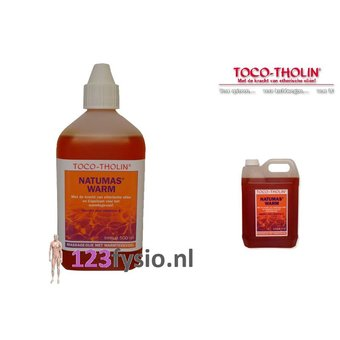 Toco Tholin NatuMas HOT massage oil 5 liters