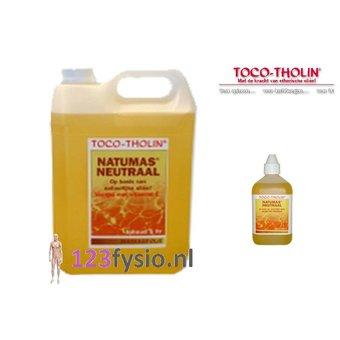 Toco Tholin NatuMas Neutraal massageolie 5 liter