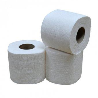 Toiletpapier 2-laags 400 vellen 10 x 4 rollen