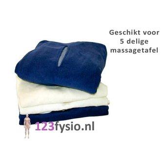 123fysio.nl Hoeslaken badstof 5 delige tafel
