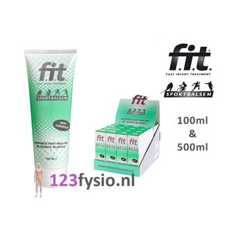 F.I.T. (FIT) F.I.T. (FIT) Sportbalsem 100ml and 500ml