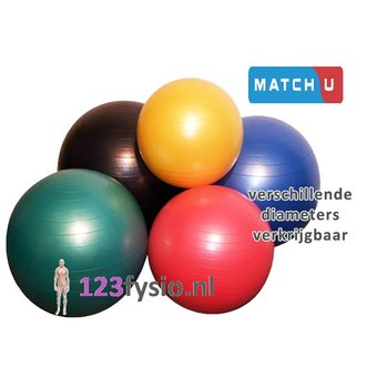 Match-U Gym Ball | Exercise ball ABS (Anti Burst)