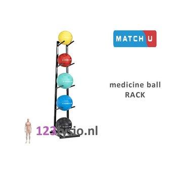 Match-U Medicine Ball Storage Rack (Standard / Rack)