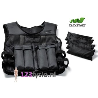 Tunturi Adjustable weight vest 10 kg & 15 kg