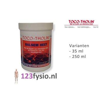 Toco Tholin Balsem Heet 35 ml & 250 ml