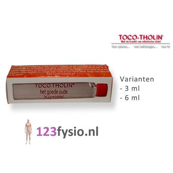 Toco Tholin Druppels 3 ml & 6 ml