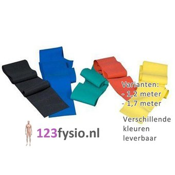 123fysio.nl Dynaband | Resistance Band 1,2 meter