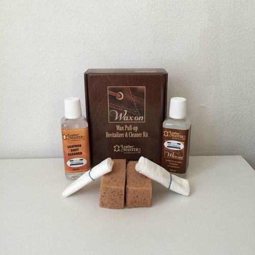 Leather Master Leather master Wax on Kit
