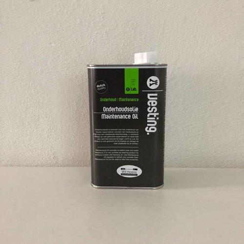 De Vesting De Vesting Onderhoudsolie 3000 naturel wit 2,5 liter