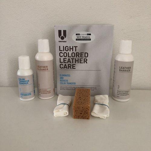 uniters U Light Colored Leather care