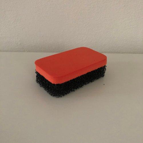 Oranje BV Nubuck spons